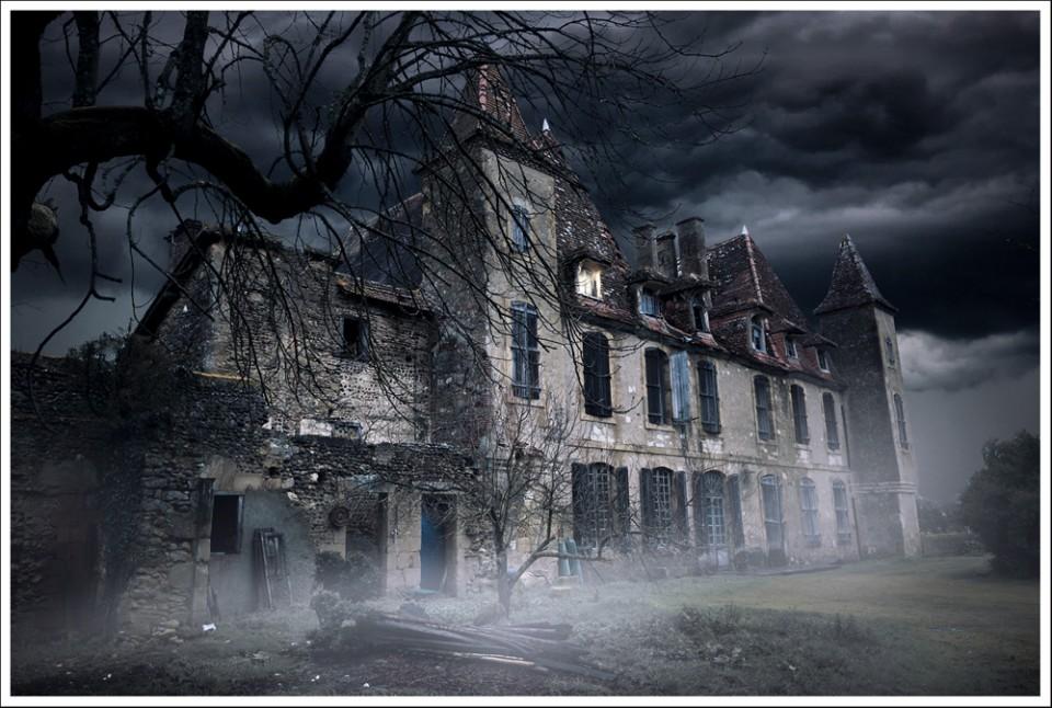 Fantôme dans le manoir !