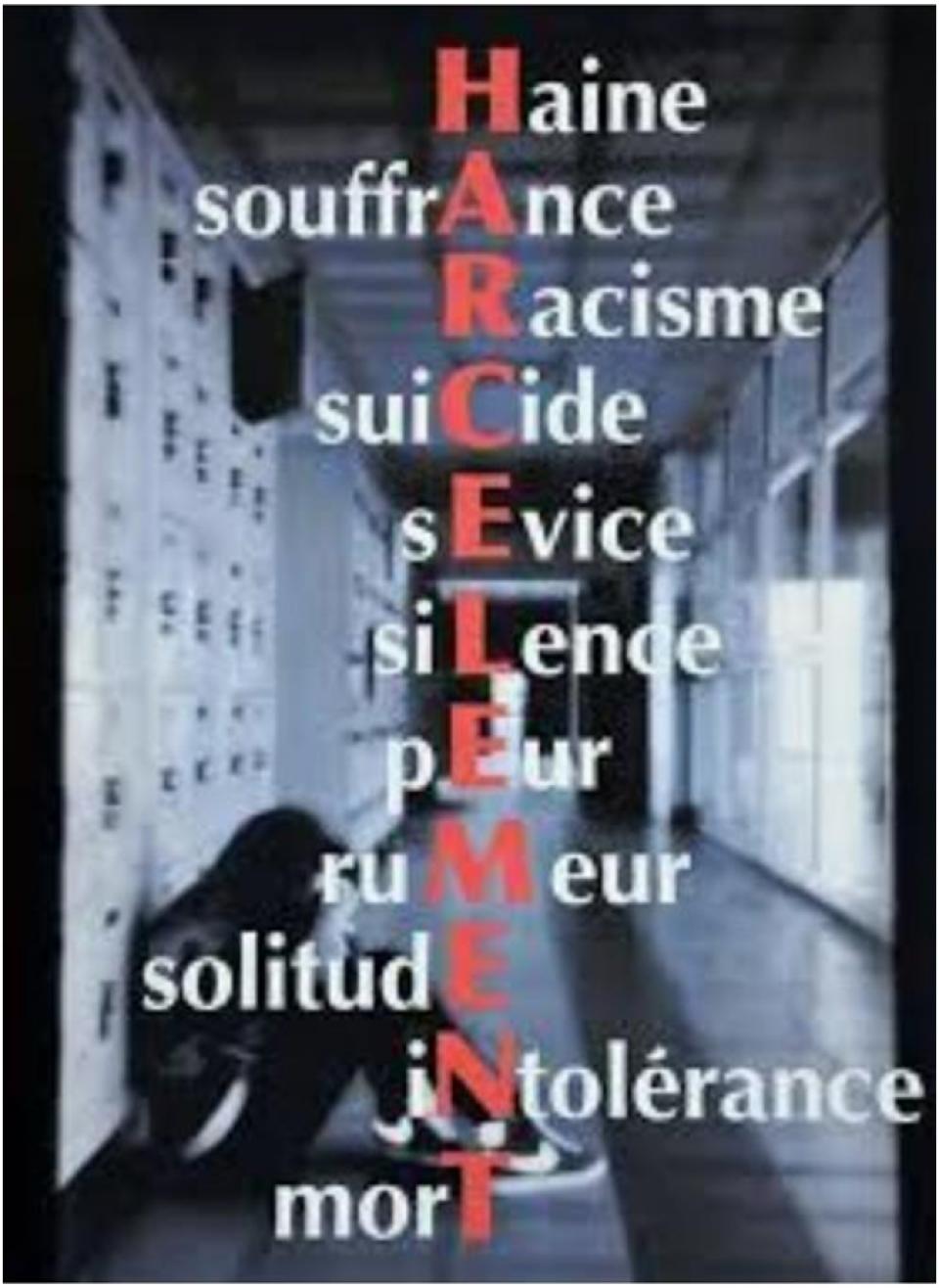 Stop au harcèlement !