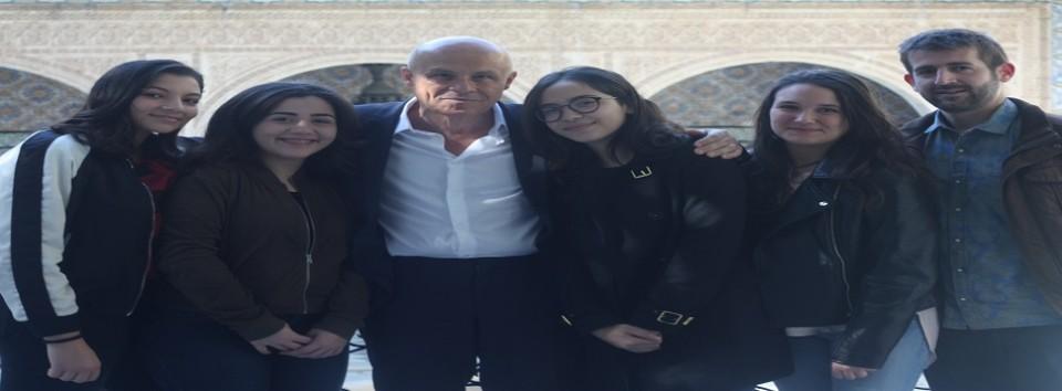 Entretien avec M. Olivier POIVRE D'ARVOR, Ambassadeur de France, en Tunisie.